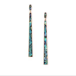 Kendra Scott Abalone Earrings
